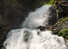 Cascada Vălul Miresii