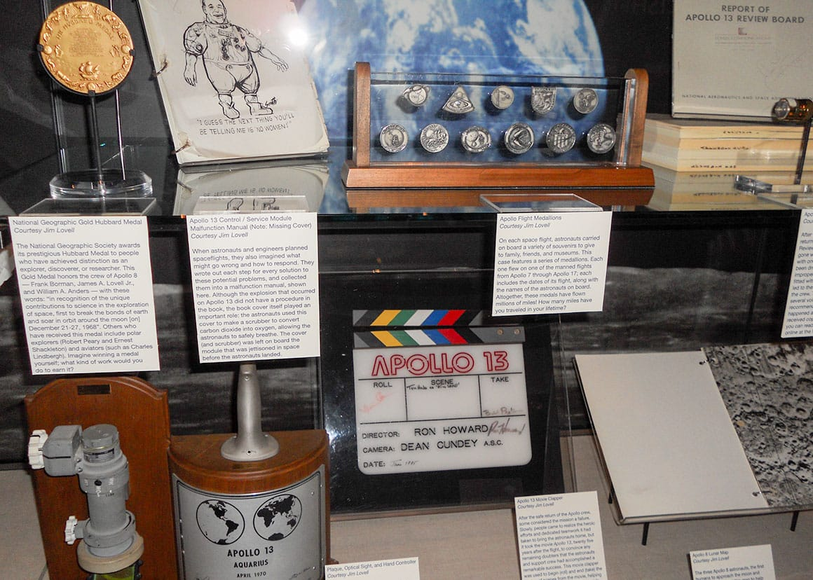 Apollo 13 exhibits
