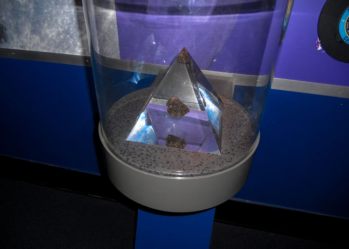 Moon rock collected by Apollo 15