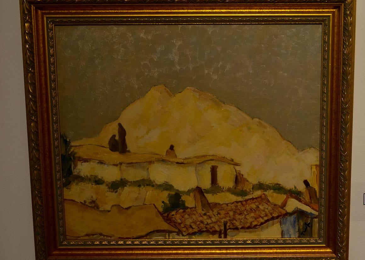 """Art Museum - Tonitza """"Landscape Balchik"""""""