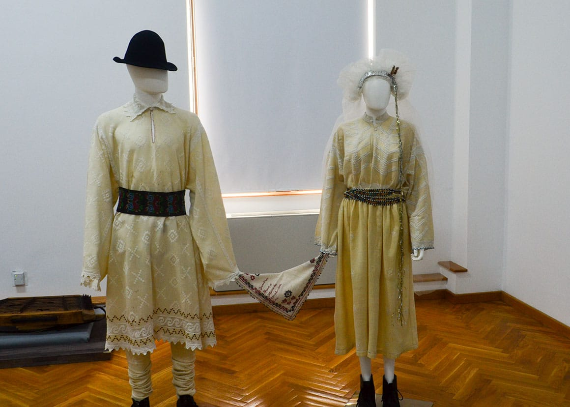 Ethnography Museum - Bride and groom