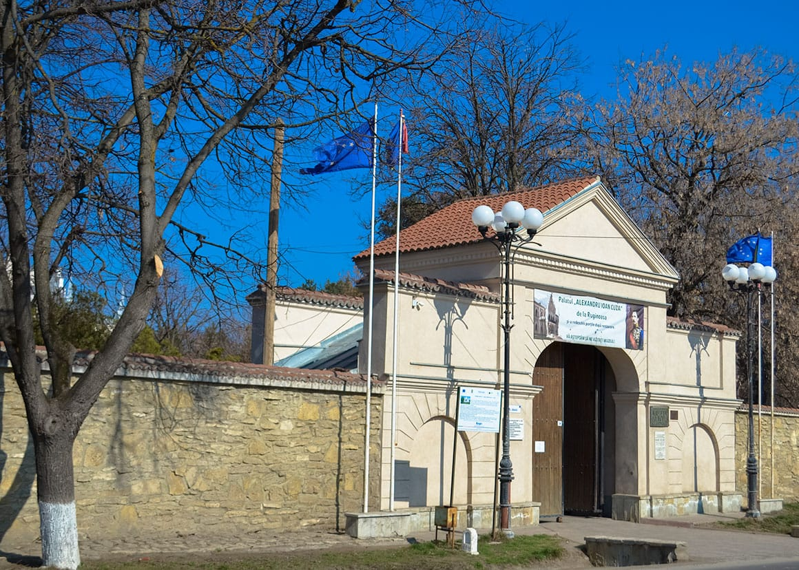 Ruginoasa Castle