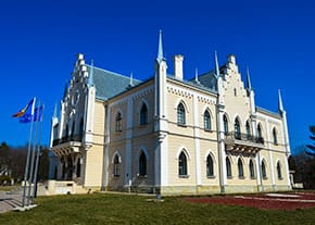 Alexandru Ioan Cuza Memorial Palace in Ruginoasa