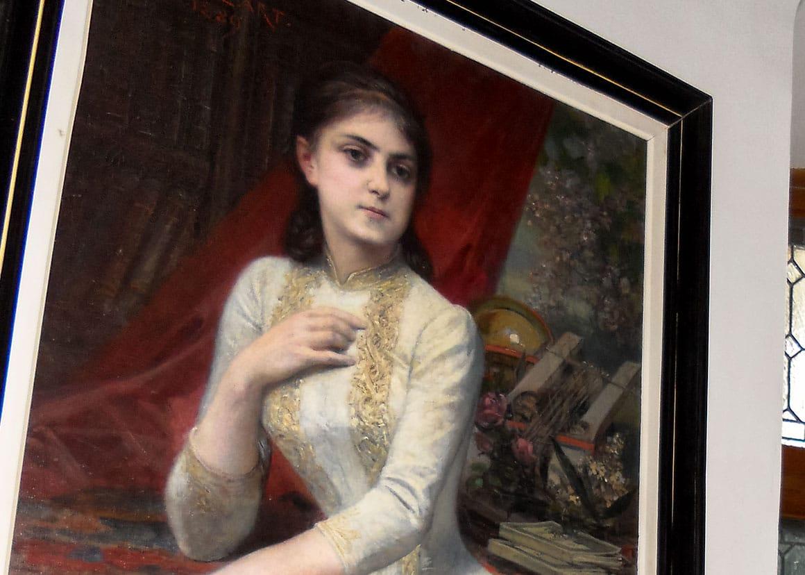 The portrait of Iulia