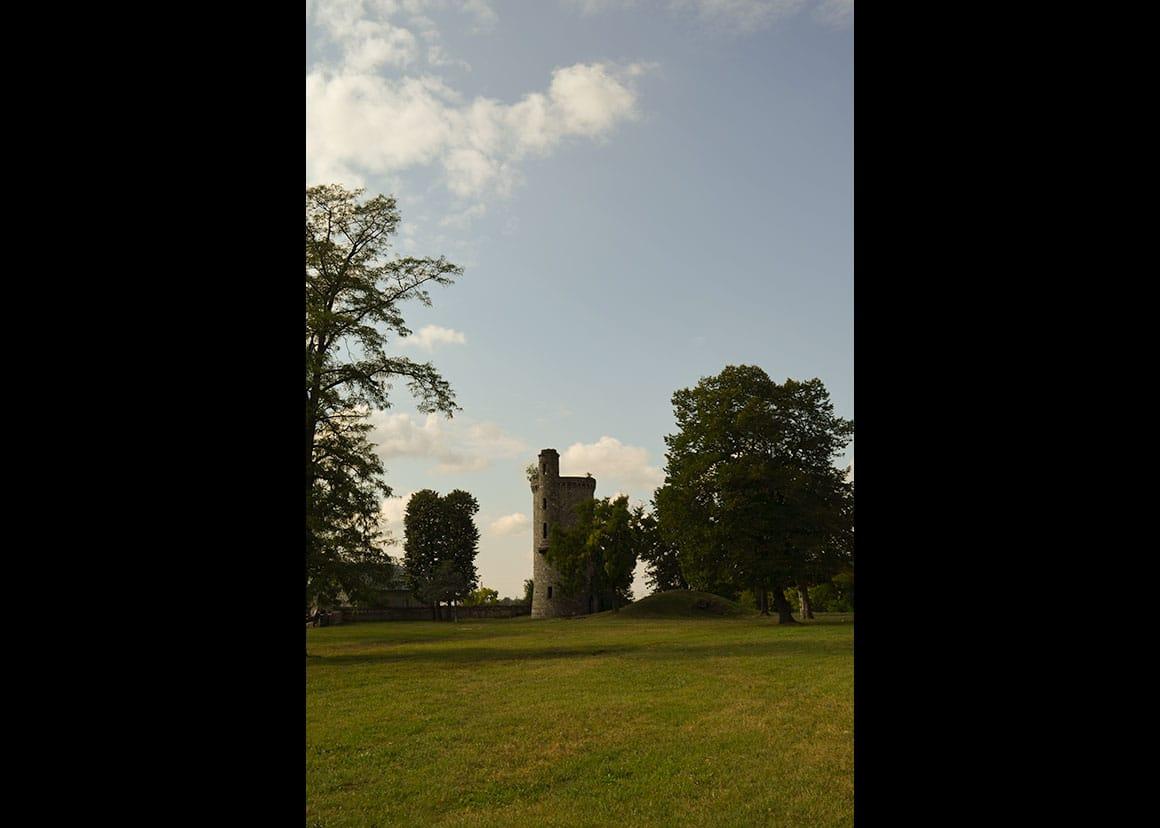 The castle park