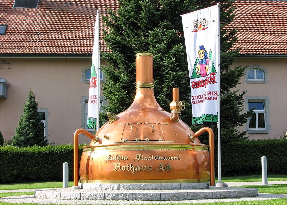 Brewery Entrance Sign